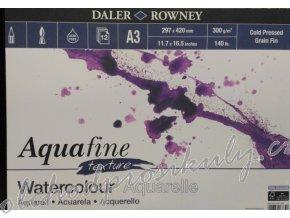 Aqua fine, blok pro akvarelovou malbu, A3