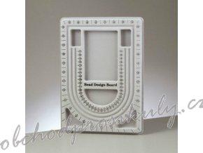 Podložka na korálkování Bead design Board 24x33cm šedá