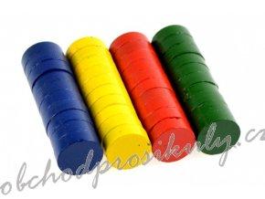 Magnety 15 mm - barevné - 40 ks - 171710