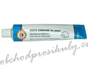 Bílá lepící pasta