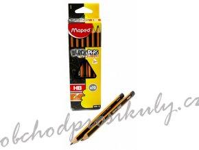 Grafitová tužka Tužka Maped Black´Peps - Jumbo HB