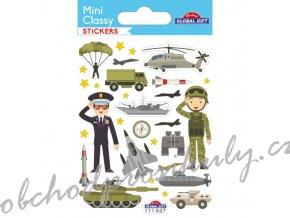 Samolepky armáda