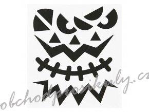 Samolepky 15x17cm - Halloween obličej