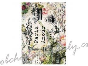 ryzovy papir a4 parizska romance