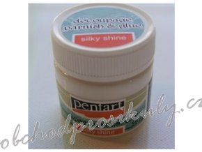 Lepidlo a lak na decoupage, 50ml