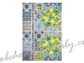 ryzovy papir a3 citronove kachlicky