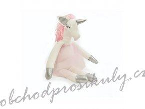 Sada na šití Jednorožec růžový 34x16,5cm (1ks)