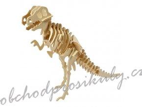 3D dřevěný model dinosaurus
