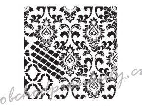 sablona cadence kolekce homedeco 45x45 cm ornamenty 6