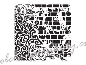 sablona cadence kolekce homedeco 45 x 45 cm ornamenty 5