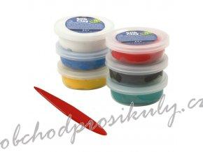 Modelovací hmota samotvrdnoucí Silk Clay sada - barevný mix