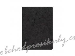 Sešit tečkovaný A5 černý