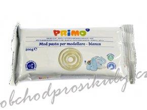 Samotvrdnoucí hmota PRIMO, 500g, bílá