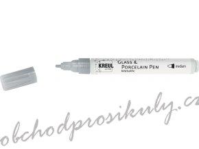 CK16416 KREUL fix na sklo porcelan stribrny
