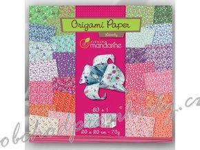 Papíry na origami 20x20cm (60ks) Liberty