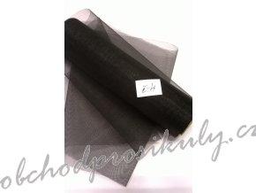 Organza 0,16 x 9m, č. 4, černá