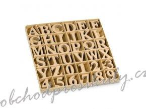 Kartonová písmena a číslice sada (360ks)