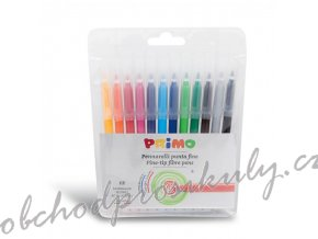 Fixy PRIMO, hrot 2,5mm, 12 ks, PP obal, blistr