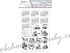 stampo bullet journal kalendarium4