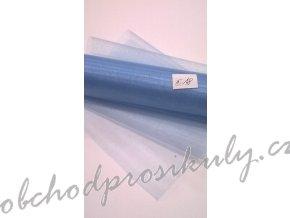 Organza 0,16 x 9m, č. 18 sv. modrá