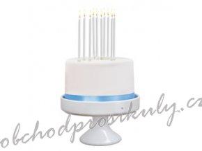 Dortové svíčky, jednobarevné sady