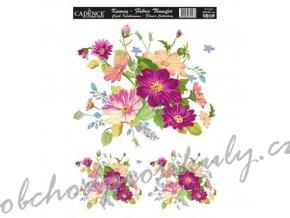 nazehlovaci nalepka 25x35 kvetiny