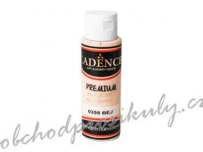 akrylova barva premium beige bezova