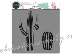 aladine sablona 28x28cm kaktus