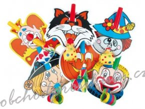 Frkačky s klaunem 6 ks v balení
