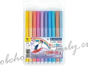 Dětské fixy - Centropen Colour World - Pastel - 10 ks - 7550/10