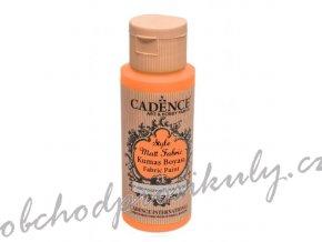 klasicka textilni barva style matt fabric 50ml zariva oranzova flourescent orange