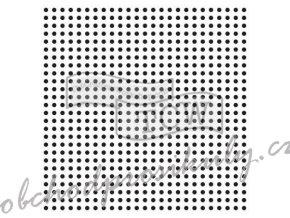 sablona 6 x6 micro dots mini