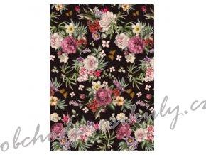 ryzovy papir a3 kvetiny z dzungle