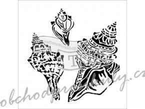 Šablona Conch Shells