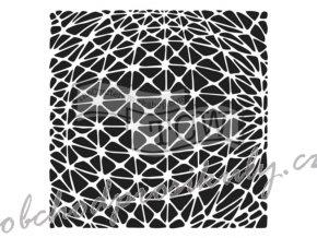 sablona 12 x12 30 5 x 30 5 cm geo netting