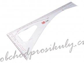 Krejčovský příložník / pravítko Prym délka 60 cm