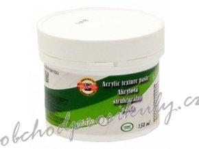 Akrylová strukturální pasta - bílá 150 ml