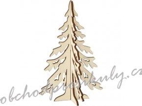 Strom - dřevěný výřez (1ks)