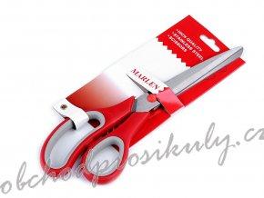 Krejčovské nůžky Marlen s mikrozoubky délka 25 cm