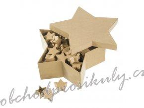 Kartonové krabičky hvězda