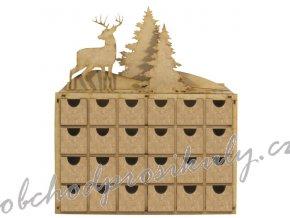 adventni kalendar dreveny zimni krajinka.jpgk