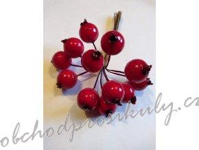 Bobulky červené, 1 sv., 1,5cm