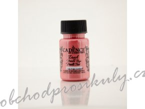metalicka akrylova barva dora metalic malinova pink sorbet 50 ml