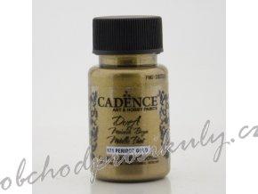 metalicka akrylova barva dora metalic svetla zlatozelena peridot gold 50 ml