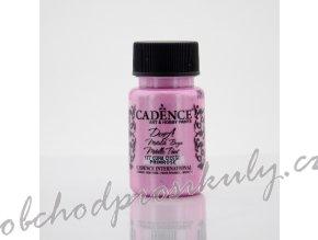 metalicka akrylova barva dora metalic ruzova prim rose 50 ml