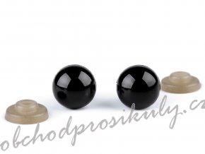 Bezpečnostní oči Ø12 mm, 3 sady, černé