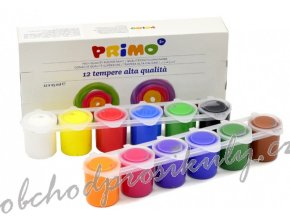 Temperové barvy- Primo 12 x 25 ml