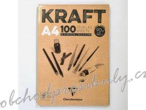 Skicák Kraft (90g/m2, 100 listů) A4