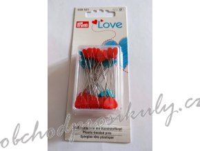 Špendlík quiltovací 0,6x50 mm, 50ks PRYM LOVE