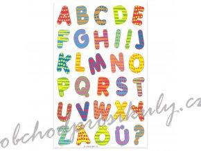 Etikety písmena barevná